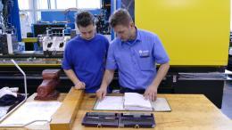 Vyvážení stroje – vyplnění protokolů v technické dokumentaci