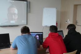 Výuka angličtiny přes Webex - warm up na začátku hodiny2