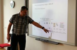 Výuka síťových komponentů strojů2