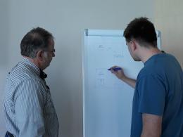 Závěrečné zkoušení s lektory z mechanické konstrukce3